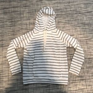 JCrew Striped Hoodie
